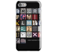 Irish Alphabet iPhone Case/Skin