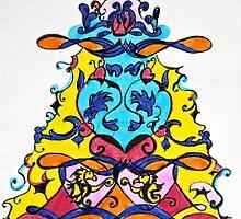 Christmas in colors #1 by Sabine Jacobsen [SJArt]