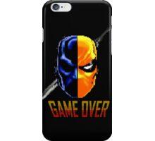 pixel deathstroke iPhone Case/Skin