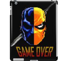 pixel deathstroke iPad Case/Skin
