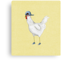 Spring Chicken Canvas Print