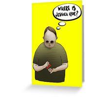 Pietre Greeting Card