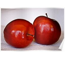 Red, Red Apples Poster