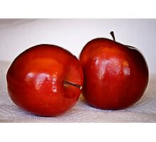 Red, Red Apples Photographic Print