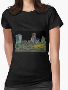 City of London Art Womens Fitted T-Shirt