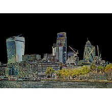 City of London Art Photographic Print