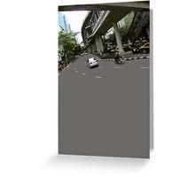 asphalt & bridges 1 Greeting Card