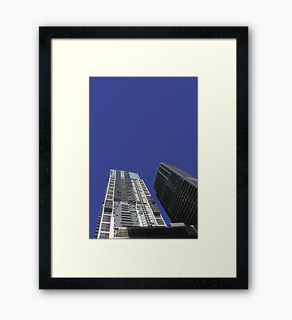 world tower Framed Print