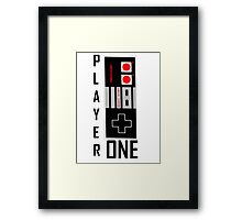 player one for you Framed Print
