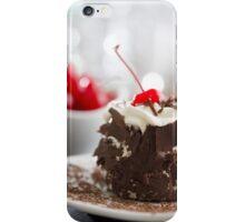 Black Forest Cake iPhone Case/Skin