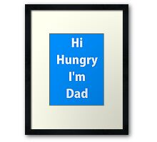 A Dads shirt Framed Print