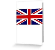 Union Jack, British Flag, UK, United Kingdom, Pure & simple 1:2 Greeting Card