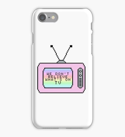 tv iPhone Case/Skin