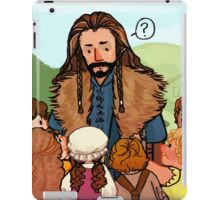 Thorin and Baby Hobbits iPad Case/Skin