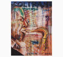 John Coltrane <oil on board> TShirt by Leith