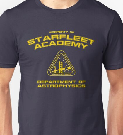 Starfleet Academy - Department of Astrophysics Unisex T-Shirt