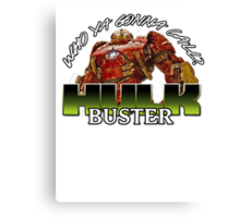 hulk buster armour Canvas Print