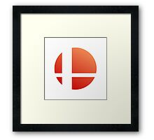 Smash Logo - Sunset Framed Print