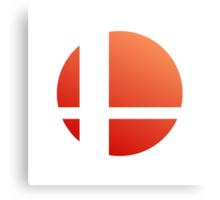 Smash Logo - Sunset Canvas Print