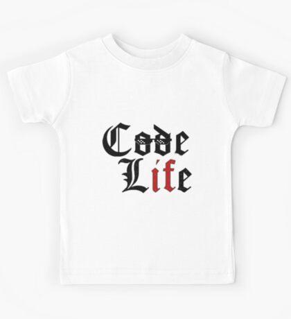 codeLifev2.0 Kids Tee