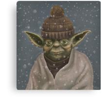 Christmas Yoda Canvas Print