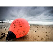 lonely buoy  Photographic Print