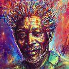Morgan Freeman by ururuty