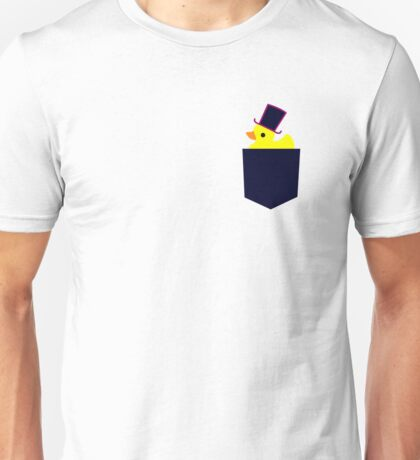 fancy rubber duck in your pocket Unisex T-Shirt