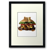 Snorelax used Lick Framed Print