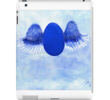 Halo angel egg iPad Case/Skin