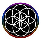 Our Psychic Art Seed of Life by FRANKEY CRAIG