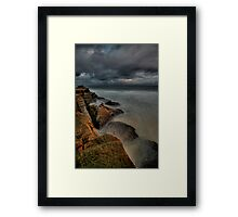 Susan Gilmore Beach at Dusk 2 Framed Print