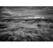 Merewether Rock Platform 2 Photographic Print