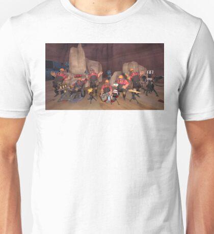 6 Engineers Vs Machines Unisex T-Shirt