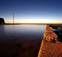 Mona Vale Pool First Light by Sacha Fernandez