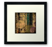 Dark City Three Framed Print