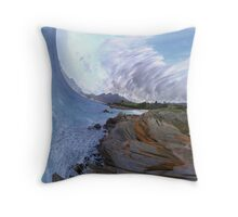 Summer Holiday - Bay of Fires Throw Pillow