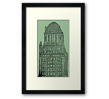 Chicago Skyscraping Framed Print