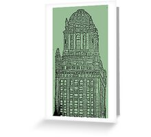 Chicago Skyscraping Greeting Card
