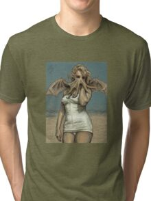 """Call of Cthulyn, 2014""  Tri-blend T-Shirt"