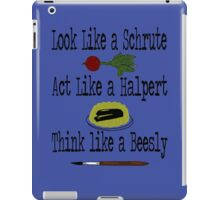 The Office - Schrute, Halpert, Beesly iPad Case/Skin