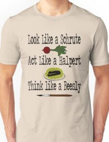 The Office - Schrute, Halpert, Beesly Unisex T-Shirt