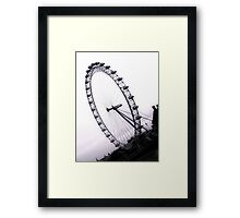 london eye, England Framed Print