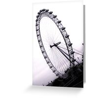 london eye, England Greeting Card