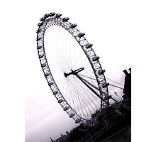 london eye, England Photographic Print