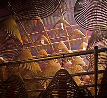Spiral Incense coils - Hong Kong by Donny Ocleirgh