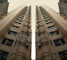 Hong Kong Apartments with sweeping angle by Donny Ocleirgh