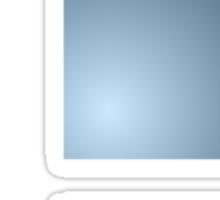 Smash Logo - Blue Steel Sticker