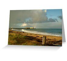 Queenscliff Beach Greeting Card
