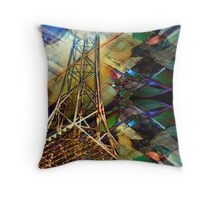 The Spire Throw Pillow